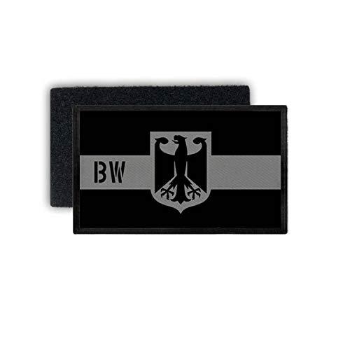 Copytec Patch Bundesland Baden Württemberg Tarnung Rang Einheit Land 7,5x4,5cm #30613