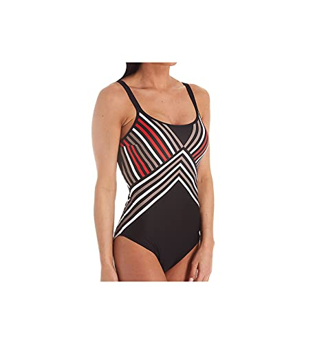 PrimaDonna Women's Hollywood Padded Triangle One Piece Swimsuit 4005438 36C Red Carpet