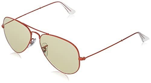 Ray-Ban Rb3025 Aviator Classic Evolve Photochromic Gafas, Red, Standard para Hombre