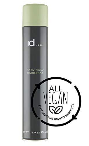 id Hair - Hard Hold Hairspray - Starkes und schnell trocknendes Haarspray - Langer Halt - 500 ml
