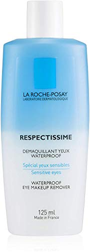 La Roche-Posay Respectissime Waterproof Eye Makeup Remover, 4.2 Fl Oz