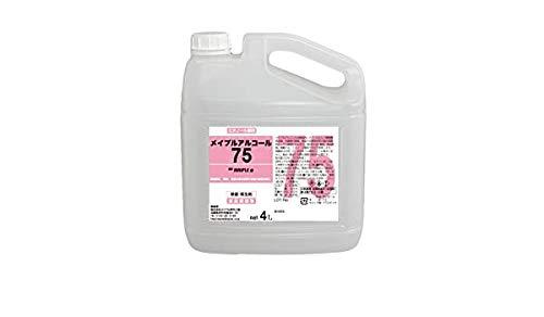 メイプルアルコール75 4L