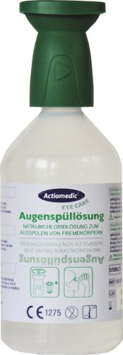 500ml sterile Augenspülung NaCl 0,9% Augenspülflasche Augendusche Erste Hilfe Augen (EUR 15,80 / L)