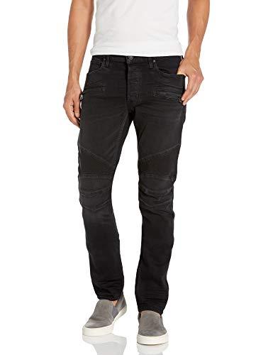 Hudson Jeans Herren The Blinder Biker Denim Jeans, Seestein, 46