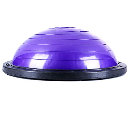 For Sale! DUOER home 23.5(59.8cm) Yoga Balance Trainer Air Dome Ball with 2 Elastic Strings Fitness...