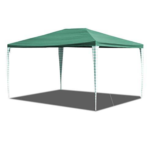 Hengda Pavillon 3x4m UV-Schutz Stabiles Partyzelt,Ohne Seitenteile,Wasserdicht Partyzelt für Markt Camping Hochzeiten Festival