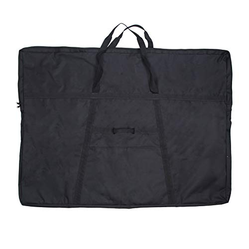 Jjring Dacron Light Weight Art Portfolio Bag, 32 Inches by 42 Inches, Black