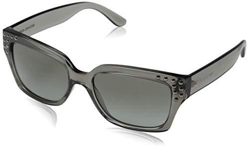 Michael Kors 0MK2066 Gafas de sol, Grey Crystal, 55 para Mujer