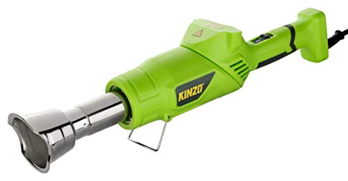 KINZO Premium 3in1 Unkrautbrenner | Grillanzünder | Heißluftfön - 4