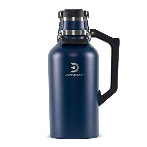 64oz Vacuum Insulated Stainless Steel Growler by DrinkTanks