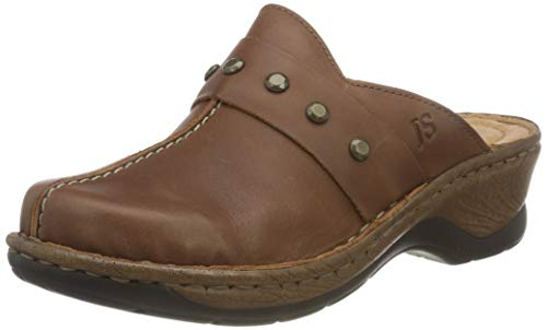 Josef Seibel Damen Pantoletten Catalonia 53, Frauen Clogs, Hausschuh Pantoffel Slipper Slides weiblich Lady Ladies Women,Braun(Castagne),36 EU / 3 UK