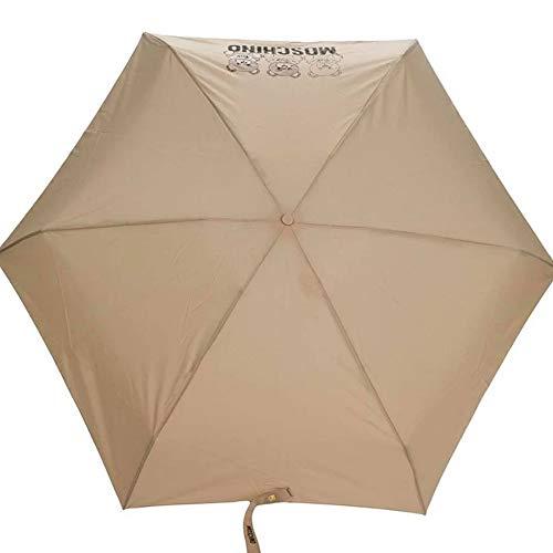 Regenschirm Moschino beige teddy Haselnuss