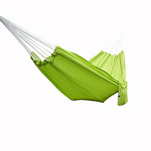 Camping hangmat Parachute Hangmat Double camping hangmat Foldand Portable for reizen, wandelen, slapen, Strand En Yard Roze 200x140cm (Color : Green, Size : 200x140cm)
