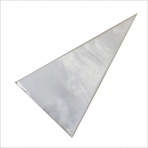 Ashley GAO 100 piezas PE transparente decoración bolsa de galletas desechable decoración bolsa durable crema exprimir bolsa