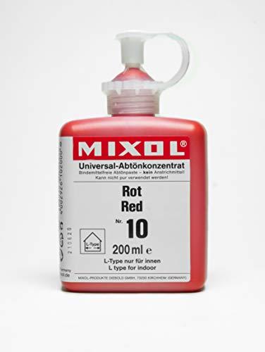 200ml MIXOL Universal-Abtönkonzentrat # 10 Rot
