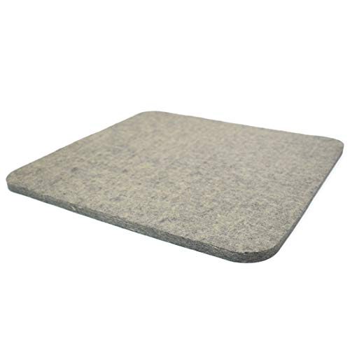 ZIIYAN Wool Pressing Mat, Wool Ironing Pad for Quilting, Sewing, Pressing Seams, Embroidery, Patchwork and Other DIY Crafts, 13 X 14inchs