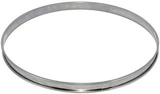 DE BUYER -3091.20N -cercle a tarte inox ht 2cmbd roule ø20