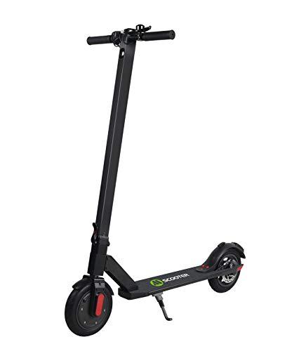 Scooter para adultos, Stunt Pro Scooter con faro de Bell y LED, 2 modos de velocidad, pantalla LED plegable y liviana Kick Scooter para niños adultos, hasta 23 km/h, 8.5 pulgadas