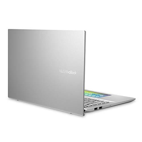 "Asus Vivobook S15 Thin & Light Laptop, 15.6"" FHD, Intel Core I5-8265U CPU, 8GB DDR4 RAM, PCIe NVMe 512GB SSD, Windows 10 Home, S532FA-DB55, Transparent Silver"