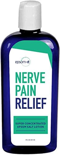 EPSOM IT NERVE PAIN RELIEF Super Concentrated Magnesium Sulfate Cream Fortified with Arnica product image