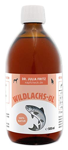 napfcheck Wild Salmon Oil for Dogs and Cats 500g