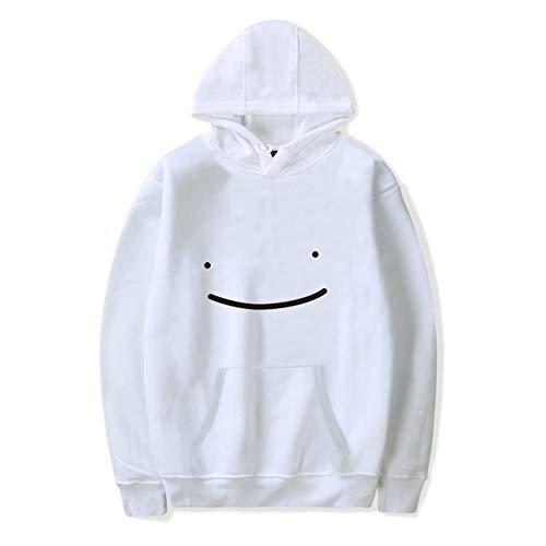 Hoodie Unisex Trainingspak Vrouwen Sweatshirts Heren Hoodie Harajuku Streetwear Grappige Kleding Plus Size - wit - 4XL