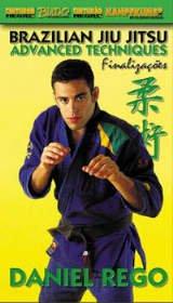 Kampfkunst International DVD REGO BJJ ADVANCED TECHNIQUES 239