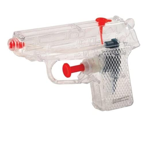 Authentic Water Squirt Guns for Kids 12 Pack Bulk Value