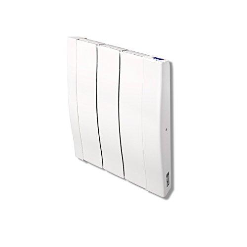 Haverland RC3W - Emisor Térmico De Inercia De Fundición De Aluminio Bajo Consumo, 450 de Potencia, 3 Elementos, Pantalla LCD y Funcionamiento Programable