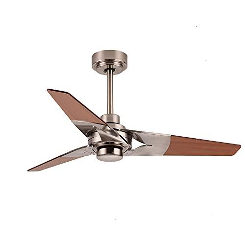 Luces de ventilador, Konoha, ventiladores de techo retro en la sala de estar, estilo industrial, luces de ventilador personalizadas en el comedor