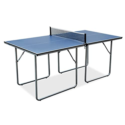 Mesa De Ping-Pong para Niños, Mesa De Ping-Pong Pequeña Plegable, Juegos Interactivos Familiares Entre Padres E Hijos, Fácil De Instalar, 182x91x76cm