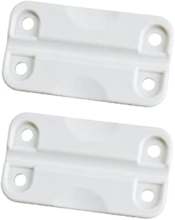 Igloo White Hinges for Ice Chests (1-Pair)