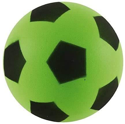 eMKay 17,5 cm grüner Fußball | Indoor / Outdoor weicher Schaumstoff-Fußball für Erwachsene und Kinder, Jungen und Mädchen