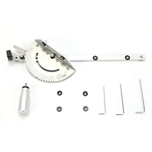 DiLiBee DIY gereedschap verstekhulp met gauge tools voor tafelzaag/router zaag accessoires Herrscher DHL