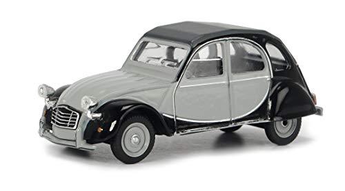 Schuco 452021700 Citroen 2CV Charleston, Modellauto, Maßstab 1:64, grau/schwarz