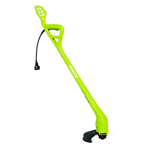 Big Save! Sun Joe TRJ607E 10-Inch 2.5 Amp Electric String Trimmer, 10 inches, Green