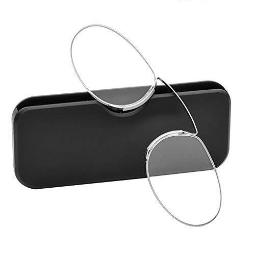 JiGAN Clip Neus leesbril Pocket bril slank licht en draagbaar voor mannen en vrouwen
