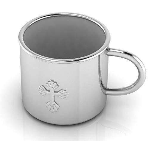 Krysaliis Sterling Silver Baby Cross Cup