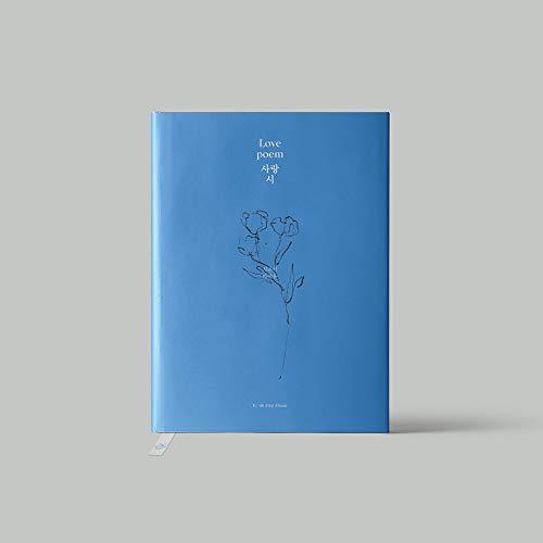 Kakao M IU - Álbum de Fotos con diseño de Poema de Amor (5º Mini) + póster Plegado + Juego de Tarjetas de Fotos Extra