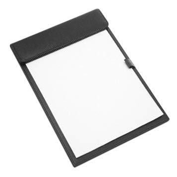 Klemmbrett A4 A5 Blockmappe Leder Schreibplatte mit Kugelschreiber Halter Clipboard Magnetclip Schreibbrett Schreib Mappe für Konferenz Register Hotel Verhandlung Büro Arbeits Speisekarte