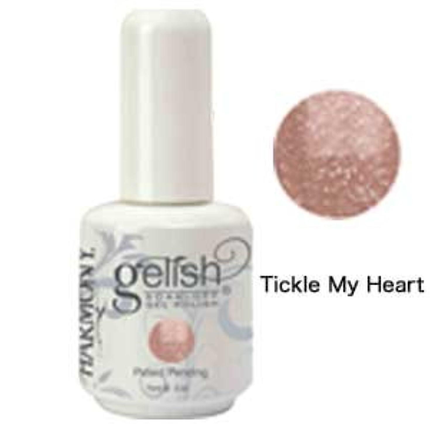 演劇リーガンよろめくHarmony gelishソークオフジェル-Tickle My Heart 15ml [海外直送品][並行輸入品]