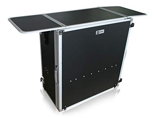 Tisch Theke zusammenklappbar Werbestand Messe DJ Flightcase Info Case
