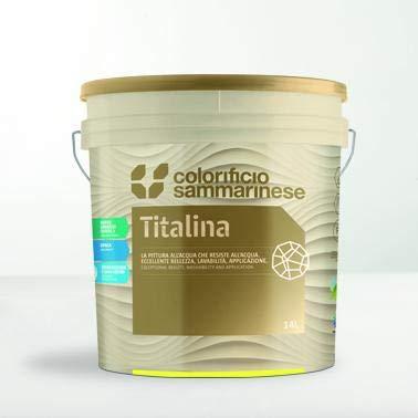 Colorificio sammarinese - colorificio sammarinese titalina idropittura vari colori - 0050-bianco-1lt