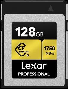 Lexar Professional CFexpress™ Type B 128GB LCFX10-128CRB 国内正規品 制限付 無期限保証