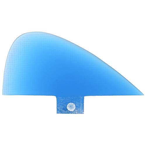 Aleta de Cola de Tabla de Surf Aleta de Cola de Seguimiento de Skeg Duradera Aletas integrales para Kayaks, canoas, Botes de Remo(Azul)