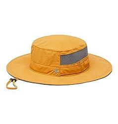 Columbia Unisex Bora Bora II Booney Hat, Moisture Wicking Fabric, UV Sun Protection, Boulder, One Size