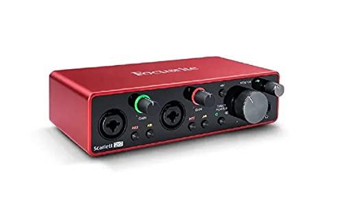 Interface De Áudio Scarlett 2i2 Geração 3 Focusrite Usb Som