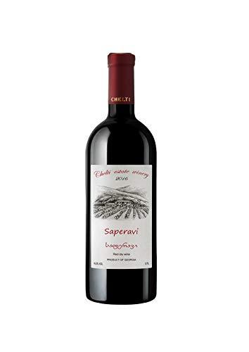 Saperavi Chelti 2016 - Klassischer Georgischer Rotwein - trocken - Vegan
