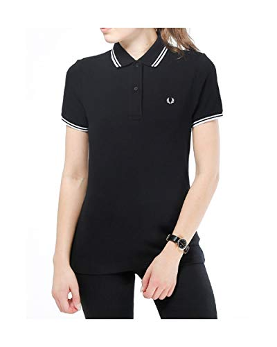Fred Perry Twin Tipped Shirt Wn's, Polo - 42 EU