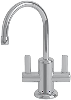 Franke LB11280 Logik Kitchen Series Little Butler Point-of-Use Faucet for Hot and Cold Water, Satin Nickel